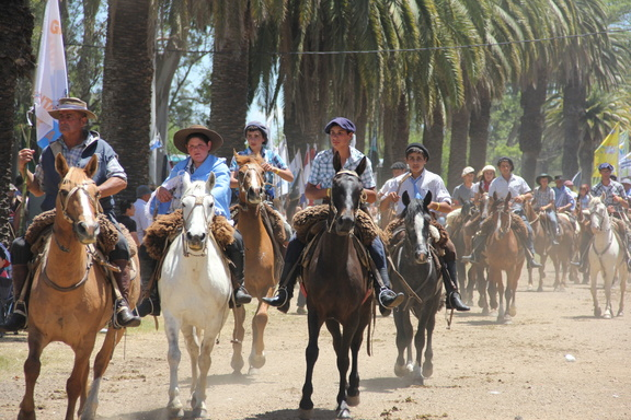 The Parade of Cowboys and Horses