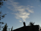 Chemtrail in Uruguay one 2-29-2016