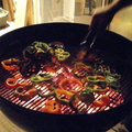 Grilling-Peppers-For-Salsa-Stores