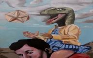 Reptilian Mexican News Reporter