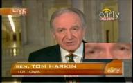 Tare senator Tom Harkin (F)