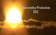 Enormous Flying Object Goes Behind Fake Sun