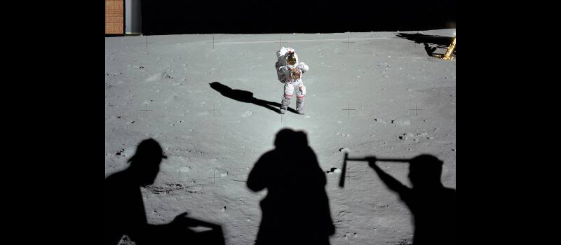 A Funny Thing Happened on the Way to the Moon