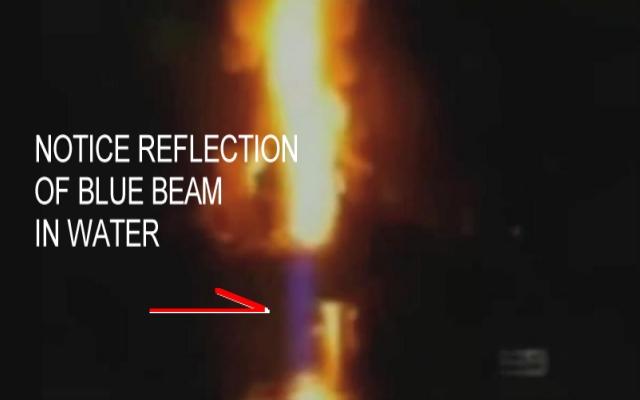 Blue Beam Weapon Used to Sink Deep Water Horizon
