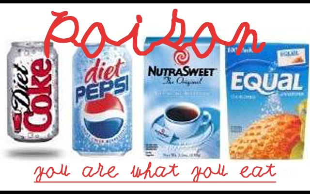 Aspartame artificial sweetener DANGER