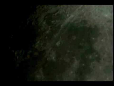 Giant UFO On Moon