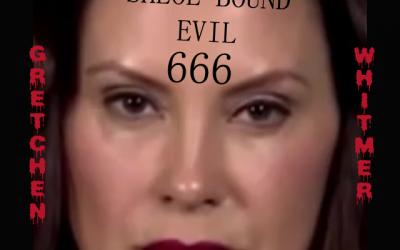 Gretchen Whitmer satanic Michigan Govenor Defanged