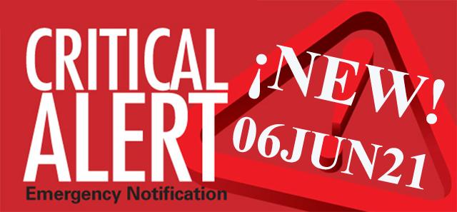 CRITICAL ALERT – 1200 06JUN2021 – !!! SHIFT HAPPENING NOW !!! JUNE ALERT !!! HERE COMES THE ANTICHRIST !!!