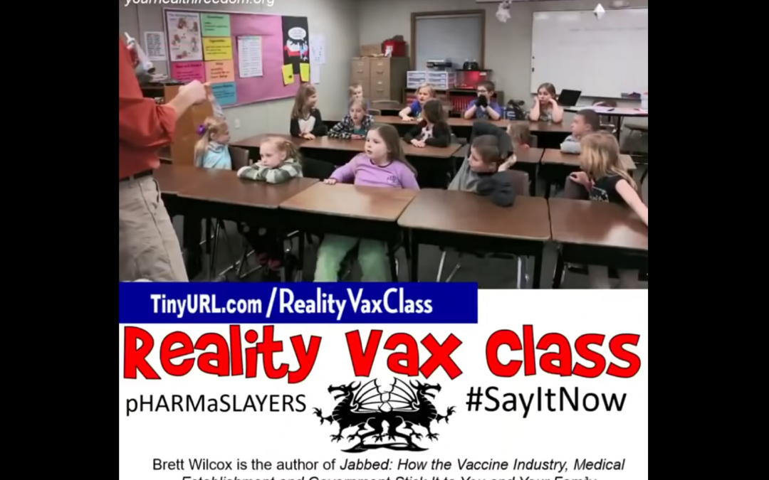 Reality Vaxxx Class – These Children Are Truly Our Future